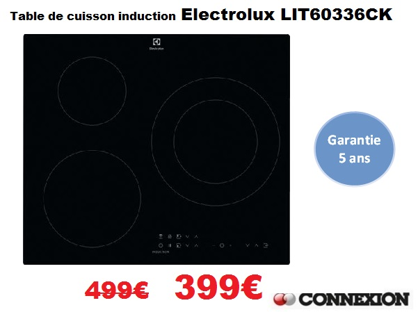 Table Lit6033 100€ Cuisson De Electrolux Induction W9Ee2YDHI