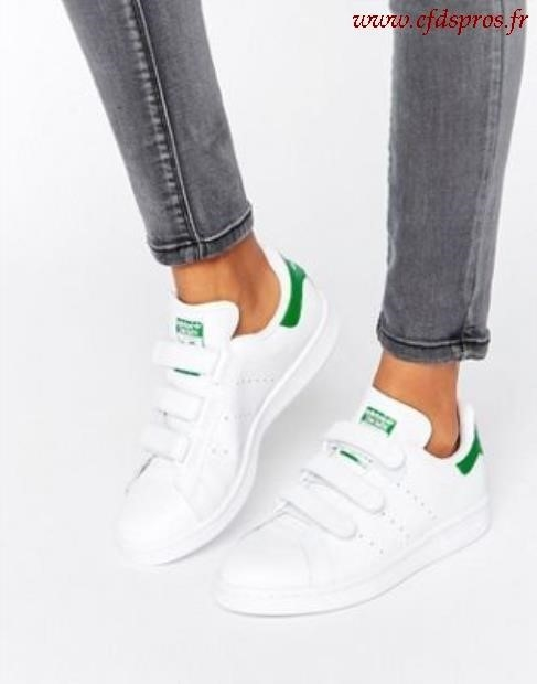 basket femme adidas stan smith scratch