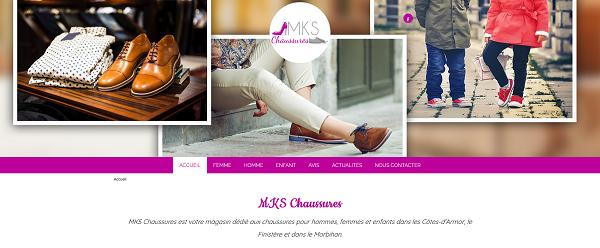 MKS Chaussures   nouveau site internet ebd85bdb27bc