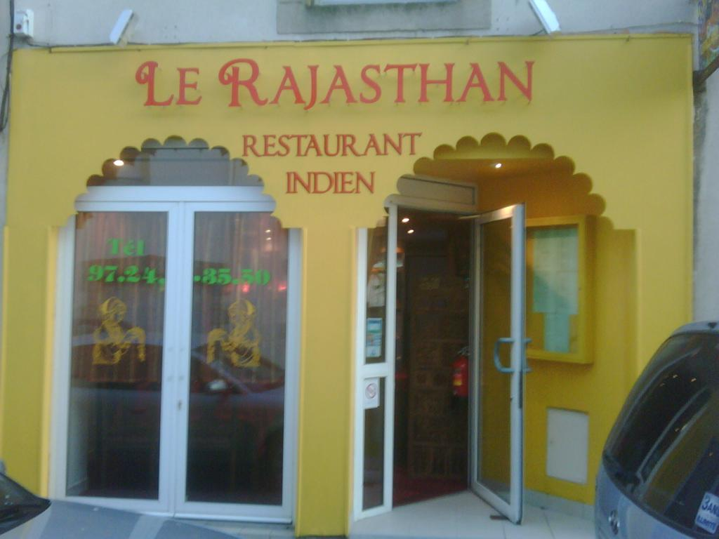 Carte Rajasthan Auray.Le Rajasthan Restaurants Bars Restaurants A Auray Horaires