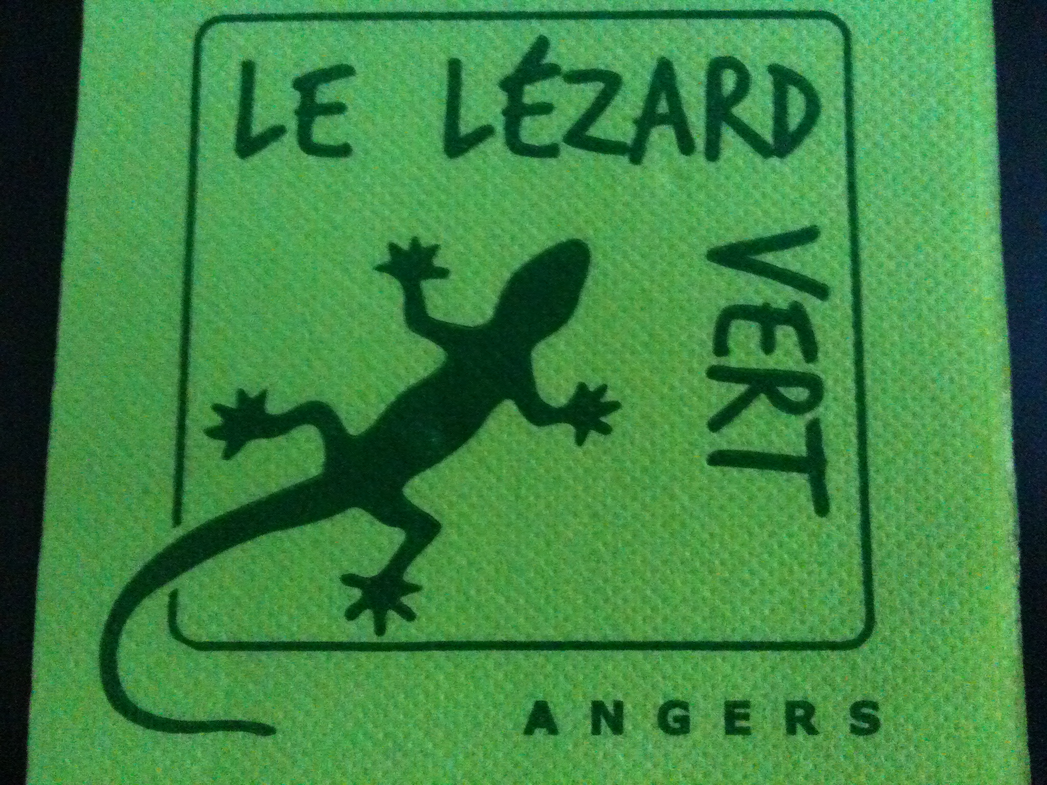 le l201zard vert 224 angers en maine et loire sur citymalin